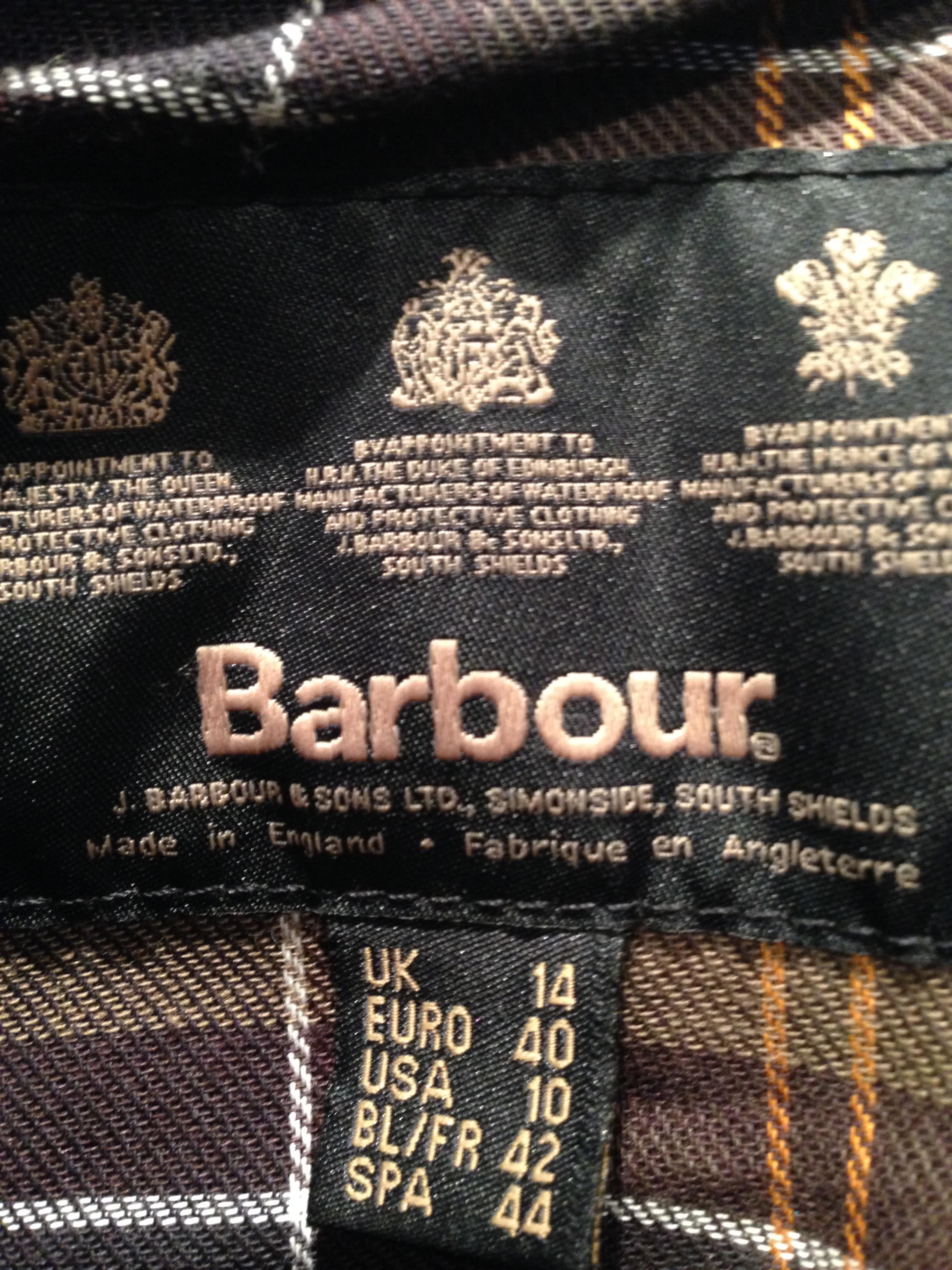 j barbour & sons ltd