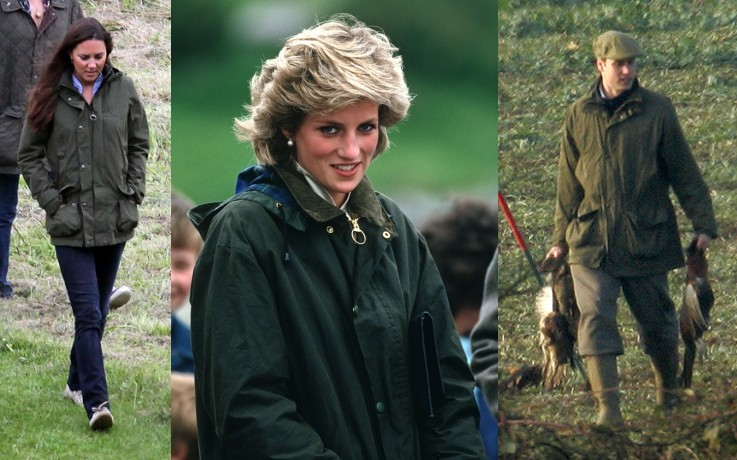 Royals love Barbour