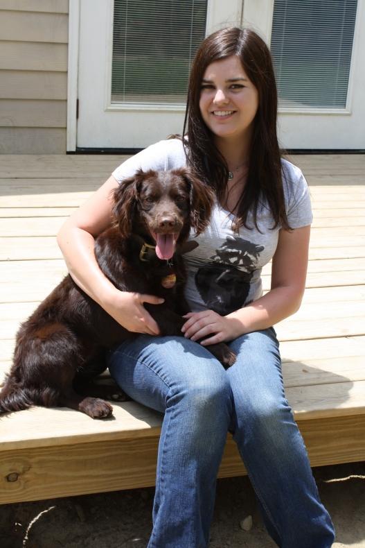 Meghan Lodge, owner of Remi, Kevin's Catalog Celebrity Dog!