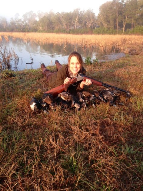 Kathleen Kelly Duck Hunting