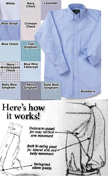 ergonometric shirts